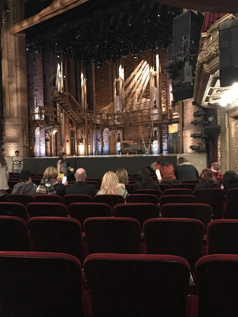 Seating view for CIBC Theatre Section Orchestra R Row N Seat 24