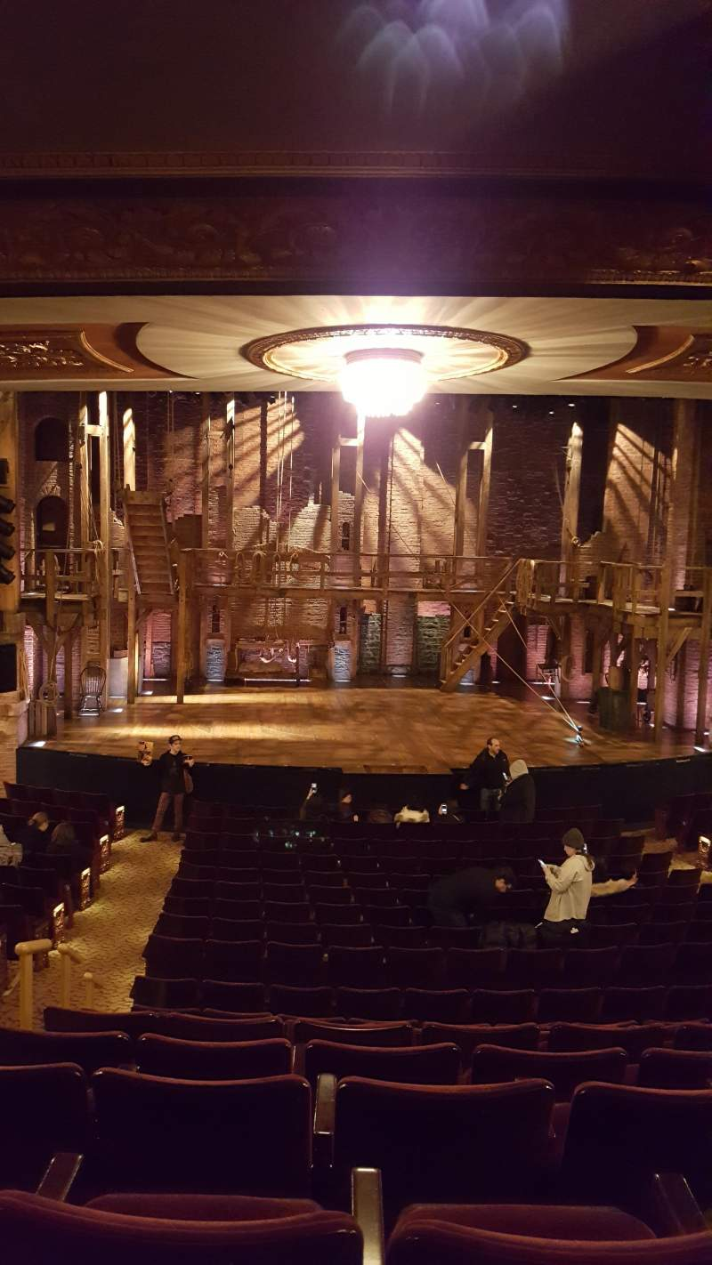 Seating view for Richard Rodgers Theatre Section Orchestra Row S Seat 112