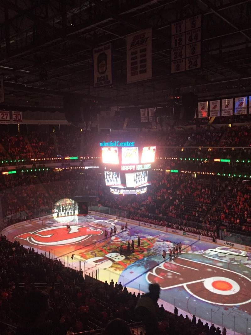 Seating view for Prudential Center Section 132 Row 3 Seat 15