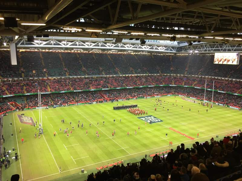 Seating view for Principality Stadium Section U32 Row 29 Seat 12