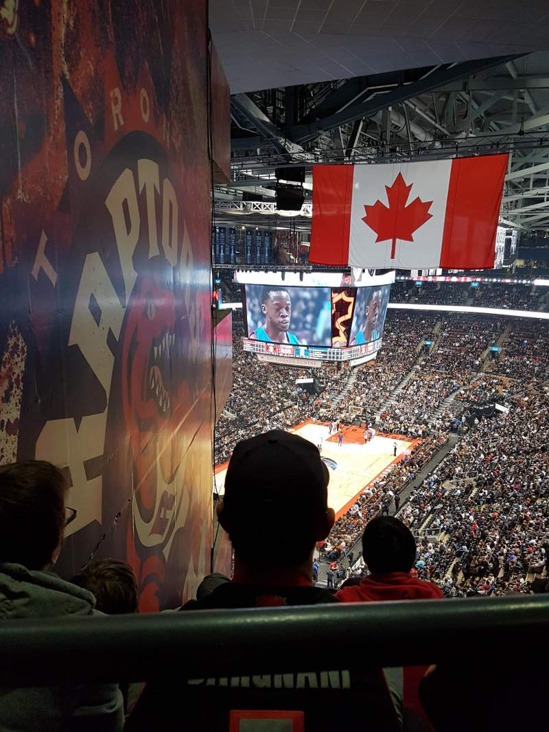 Seating view for Scotiabank Arena Section 313 Row 15 Seat 10