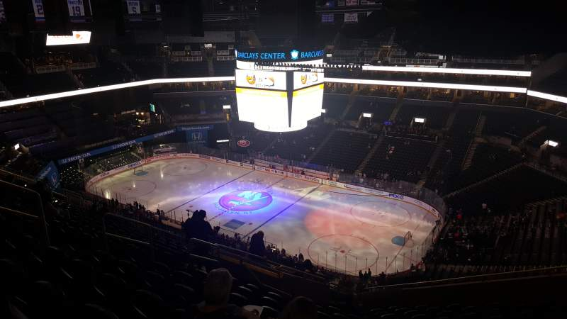 Seating view for Barclays Center Section 221 Row 15 Seat 15