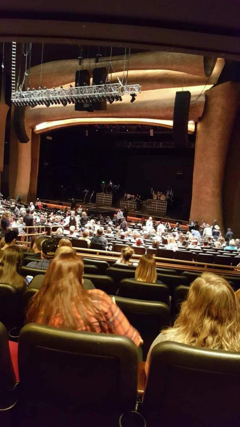 The Grand Theater At Foxwoods Section Prtrgt Row Gg Seat
