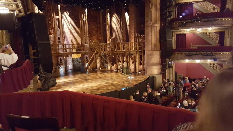 Seating view for CIBC Theatre Section Dress Circle Box 1 Row B Seat 211