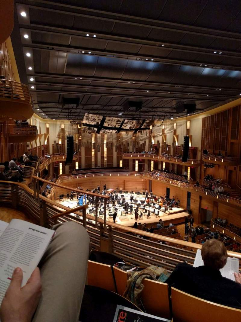 Seating view for The Music Center at Strathmore Section Grand Tier Left Row C Seat 13