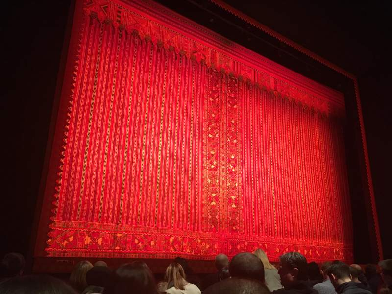 Seating view for Prince Edward Theatre Section Stalls Row F Seat 32