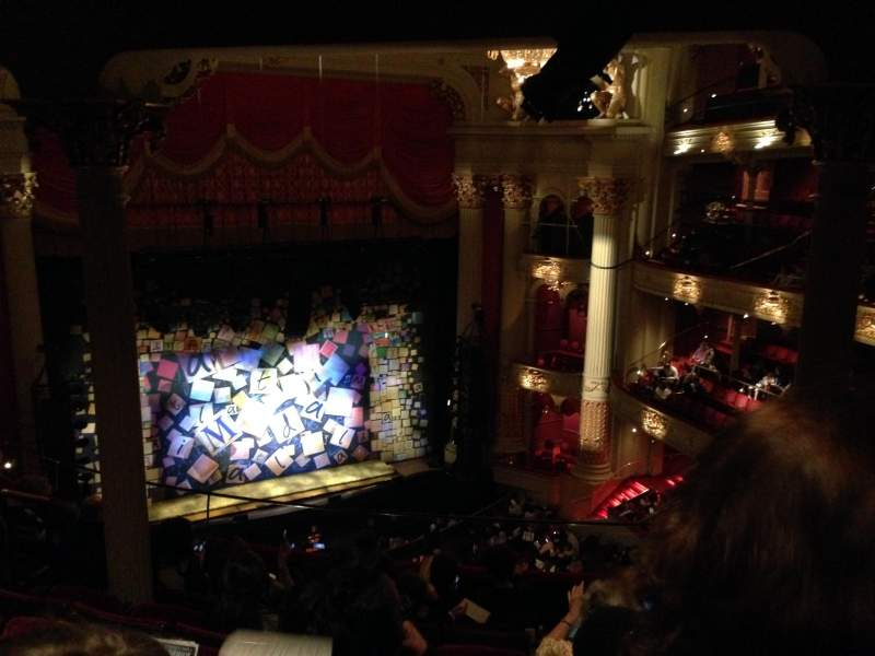 Seating view for Academy of Music Section Family Circle F Row G Seat 15