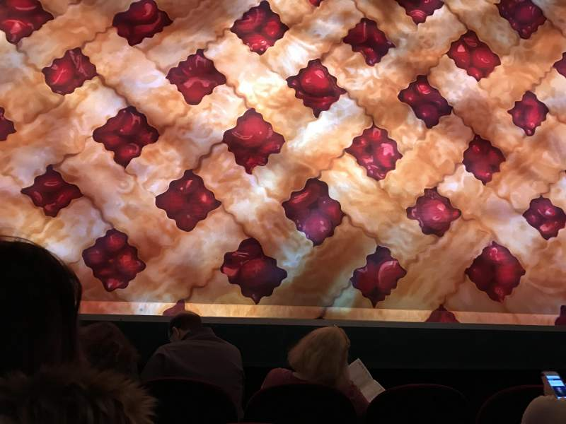 Seating view for Brooks Atkinson Theatre Section Orchestra C Row B Seat 106
