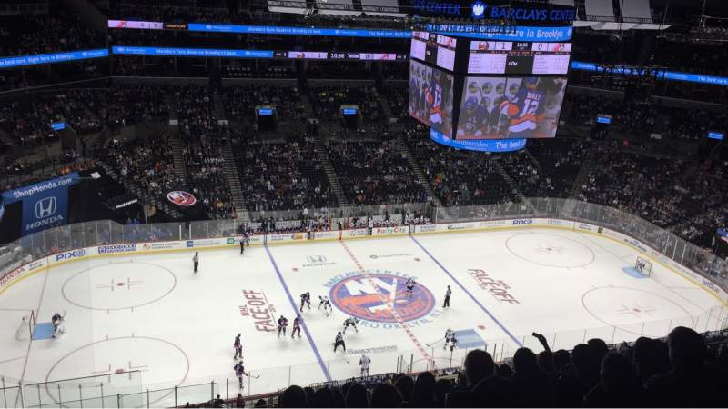 Seating view for Barclays Center Section 226 Row 13 Seat 25