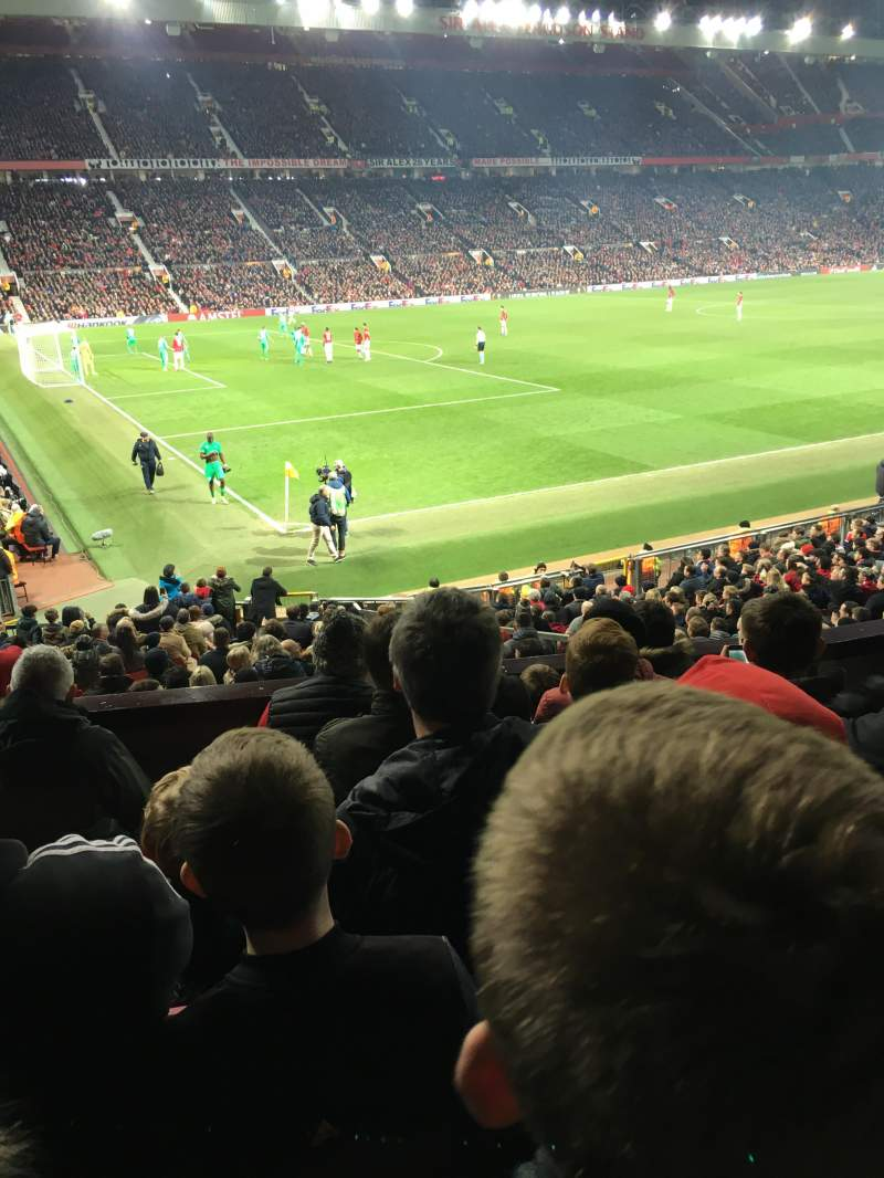 Seating view for Old Trafford Section Fam