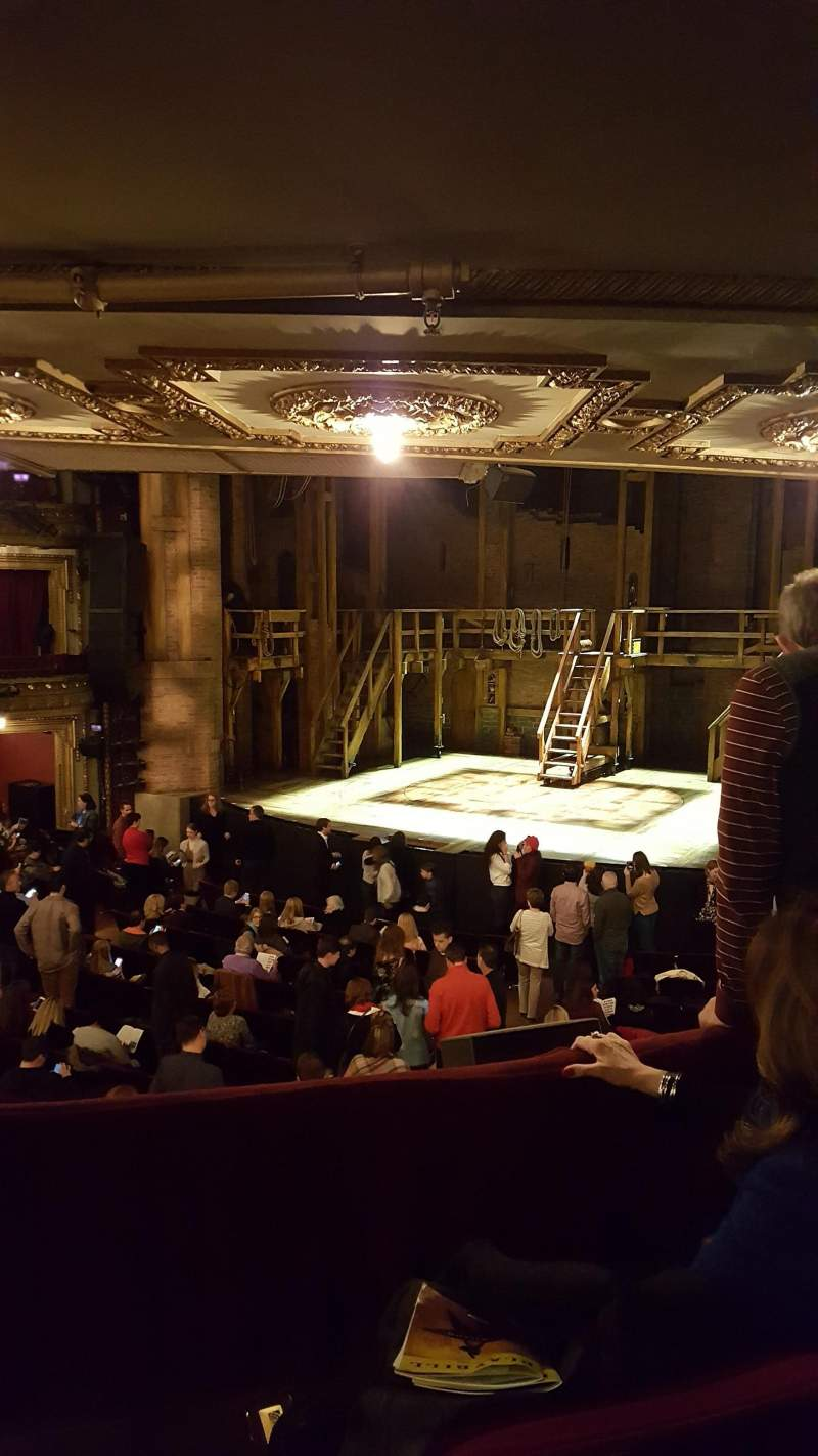 Seating view for CIBC Theatre Section Dress Circle R Row C Seat 2