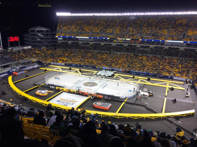 Seating view for Heinz Field Section 514 Row V Seat 15