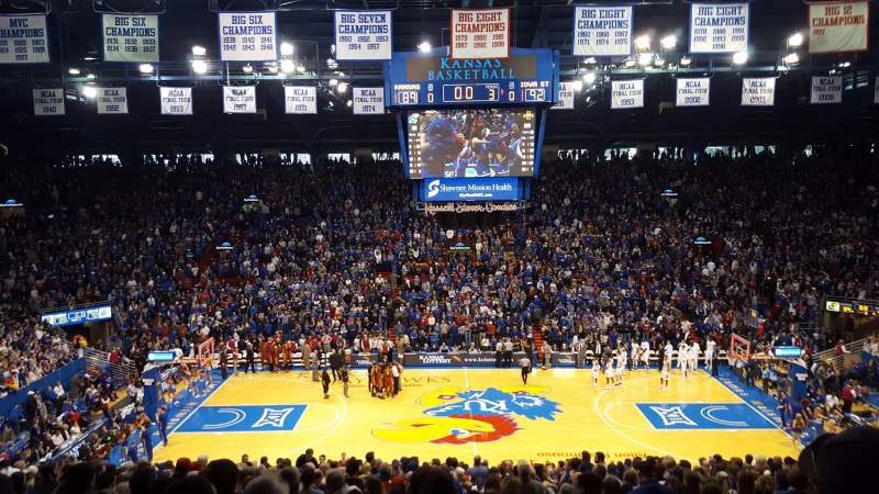 Seating view for Allen Fieldhouse