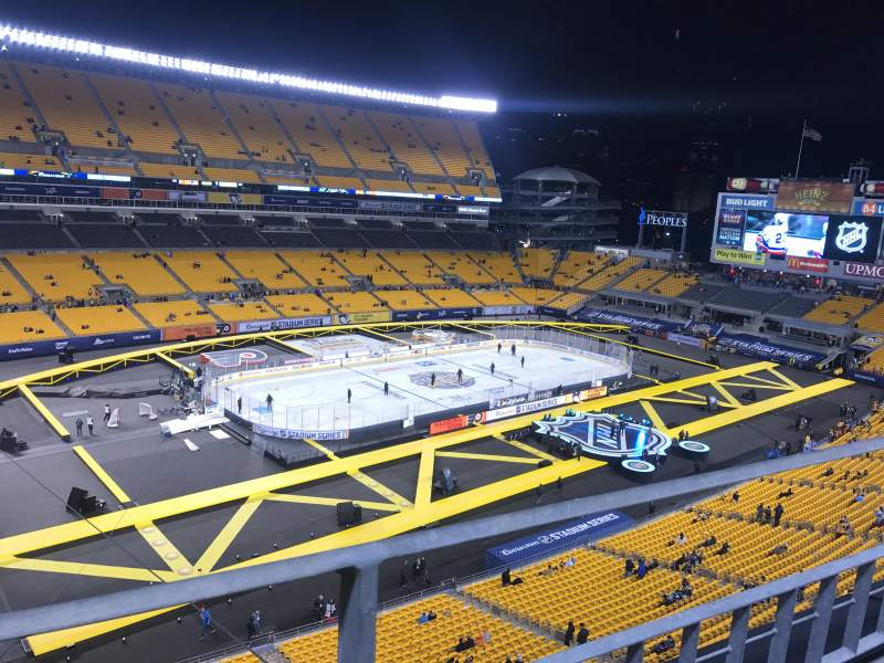 Seating view for Heinz Field Section 530 Row A Seat 22