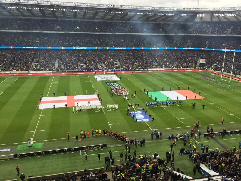 Twickenham Stadium, section: U9, row: A, seat: 220
