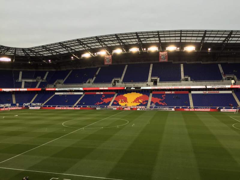 Seating view for Red Bull Arena Section 110 Row 16 Seat 15
