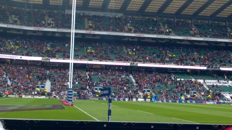 Seating view for Twickenham Stadium Section L29 Row 2 Seat 315