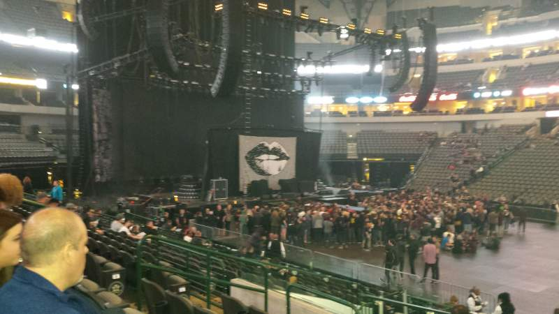 Seating view for American Airlines Center Section 118 Row P Seat 10
