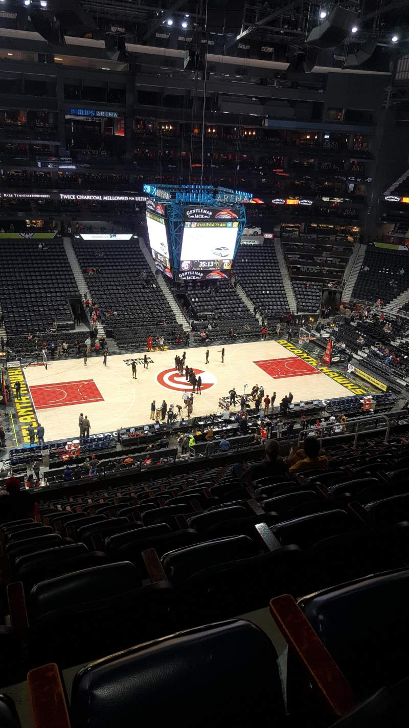 Seating view for State Farm Arena Section 224 Row N Seat 15