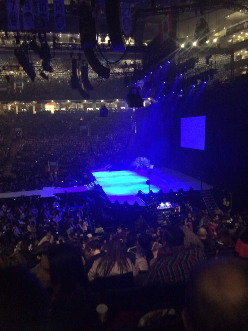 Seating view for Scotiabank Arena Section 118 Row 22 Seat 7
