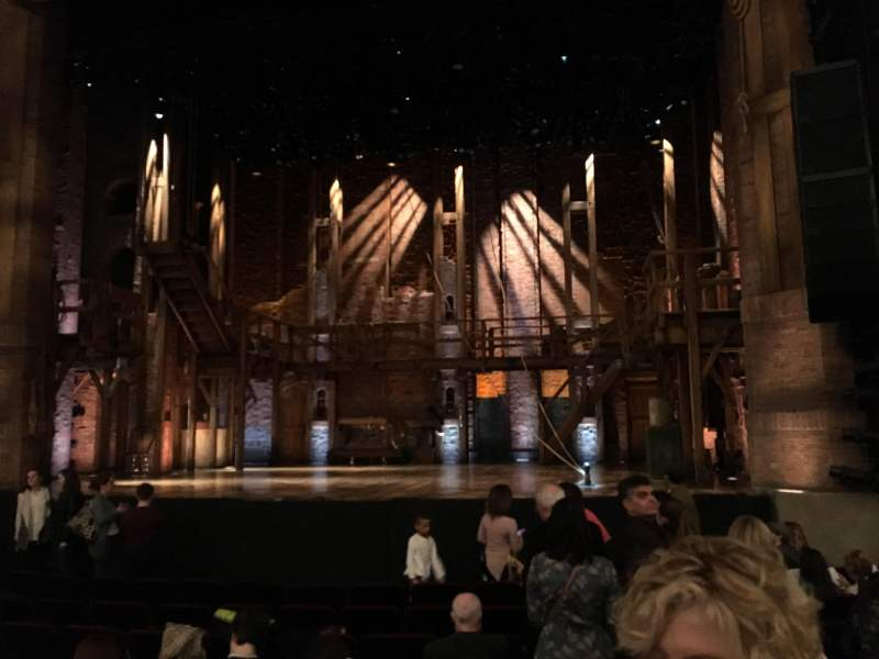 Seating view for CIBC Theatre Section Orchestra R Row U Seat 2,4