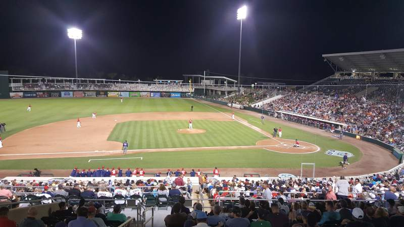 Seating view for Hammond Stadium at CenturyLink Sports Complex Section 214 Row 302 Seat 19