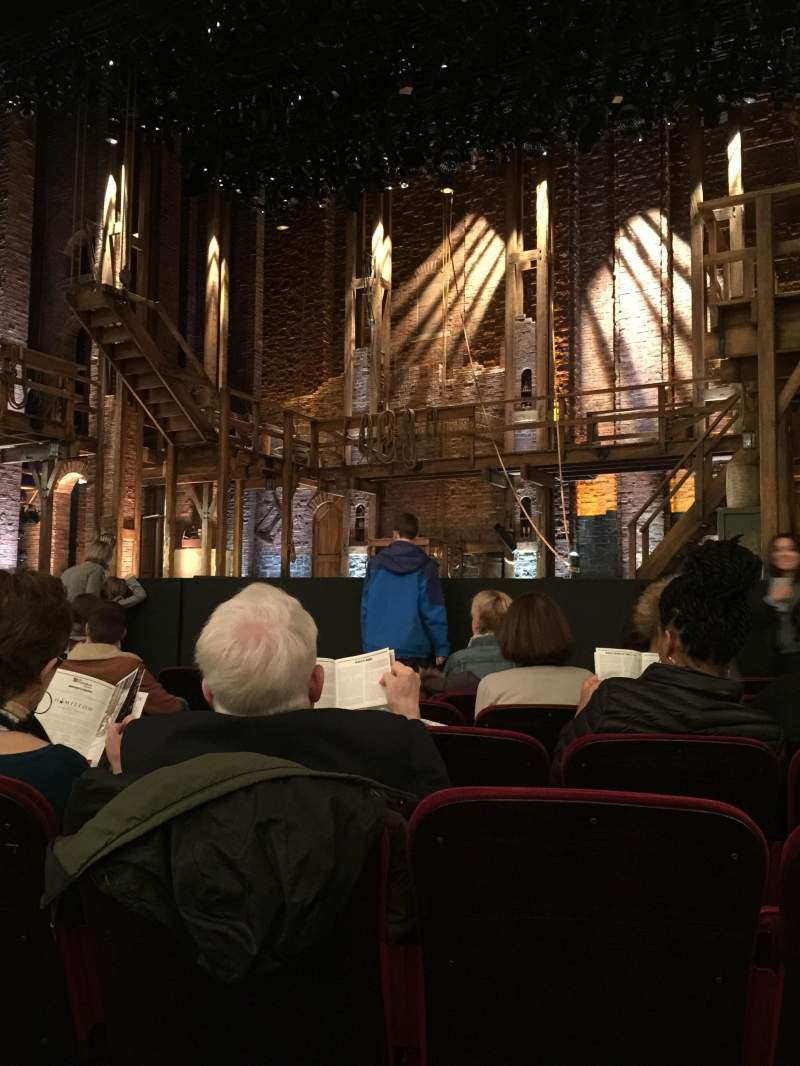 Seating view for CIBC Theatre Section Orchestra R Row H Seat 8