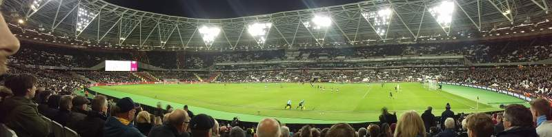 Seating view for London StadiumRow 17 Seat 175