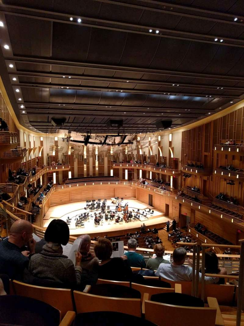 Seating view for The Music Center at Strathmore Section Grand Tier Left Row F Seat 3