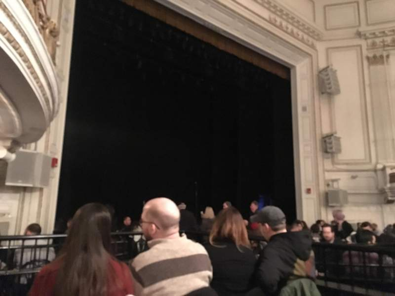Seating view for Wilbur Theatre