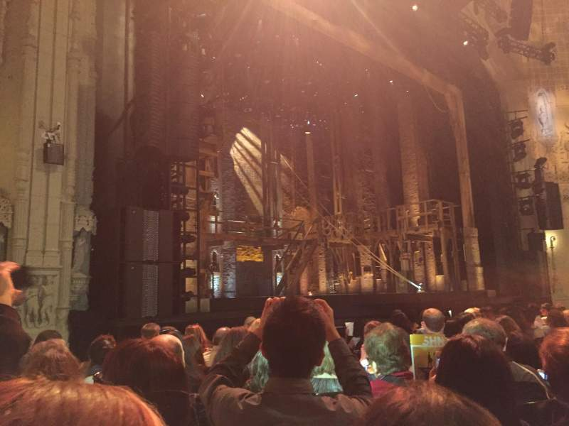 Seating view for Orpheum Theatre (San Francisco) Section Orchestra L Row K Seat 13