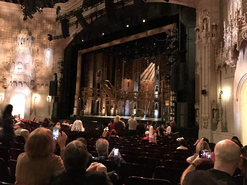 Seating view for Orpheum Theatre (San Francisco) Section Orchestra R Row T Seat 22