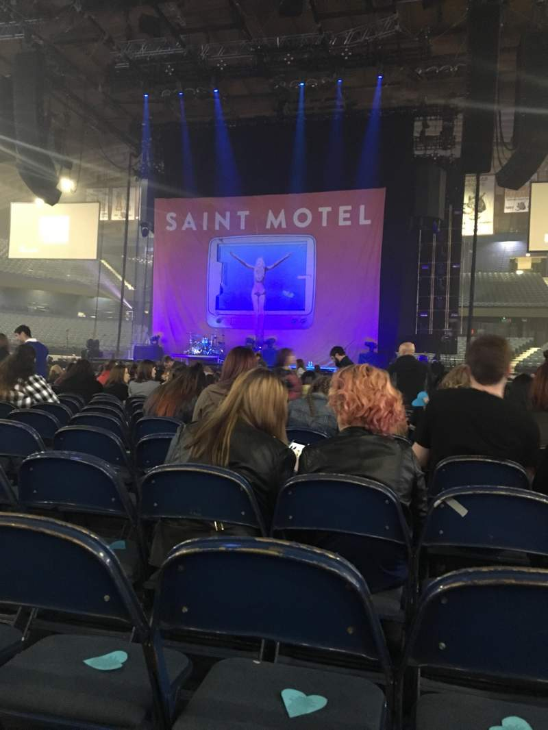 Seating view for Allstate Arena Section 3 Row 26 Seat 17