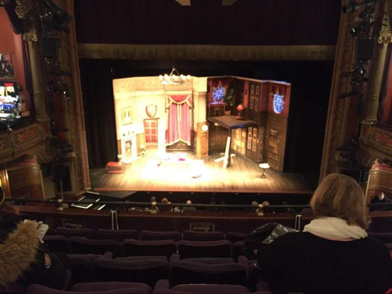 Seating view for Lyceum Theatre (Broadway) Section Mezzanine C Row F Seat 106