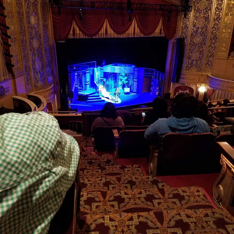Seating view for Warner Theatre (Washington, D.C.) Section Midbal Row FF Seat 25