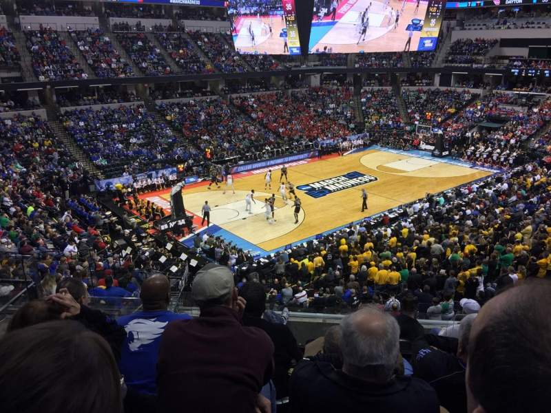 Seating view for Bankers Life Fieldhouse Section 120 Row 7 Seat 11