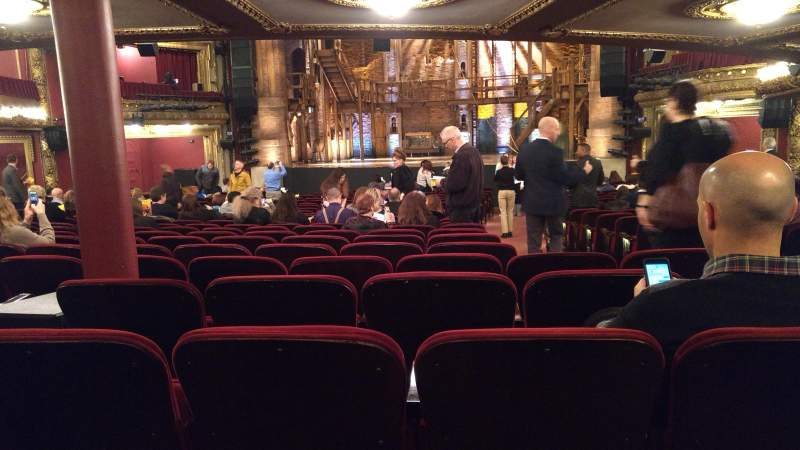 Seating view for CIBC Theatre Section Orchestra R Row Z Seat 118