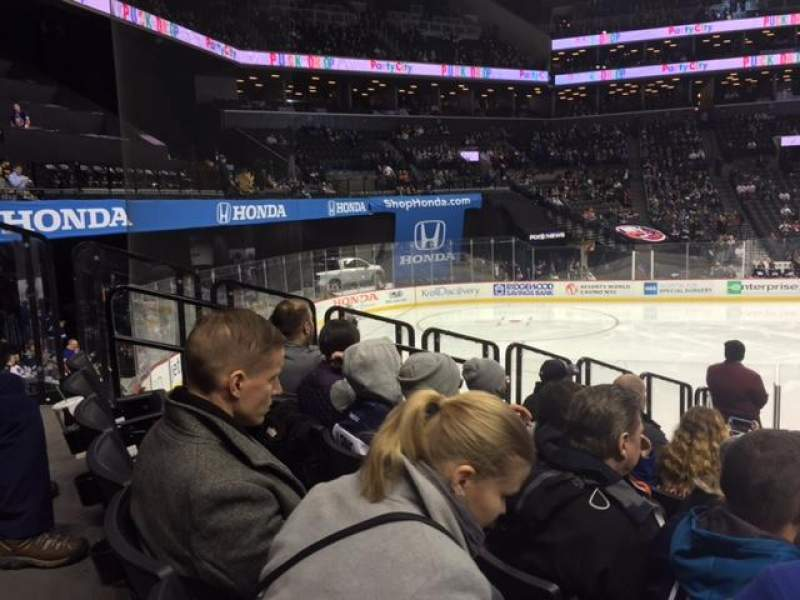Seating view for Barclays Center Section 28 Row 15 Seat 4-6