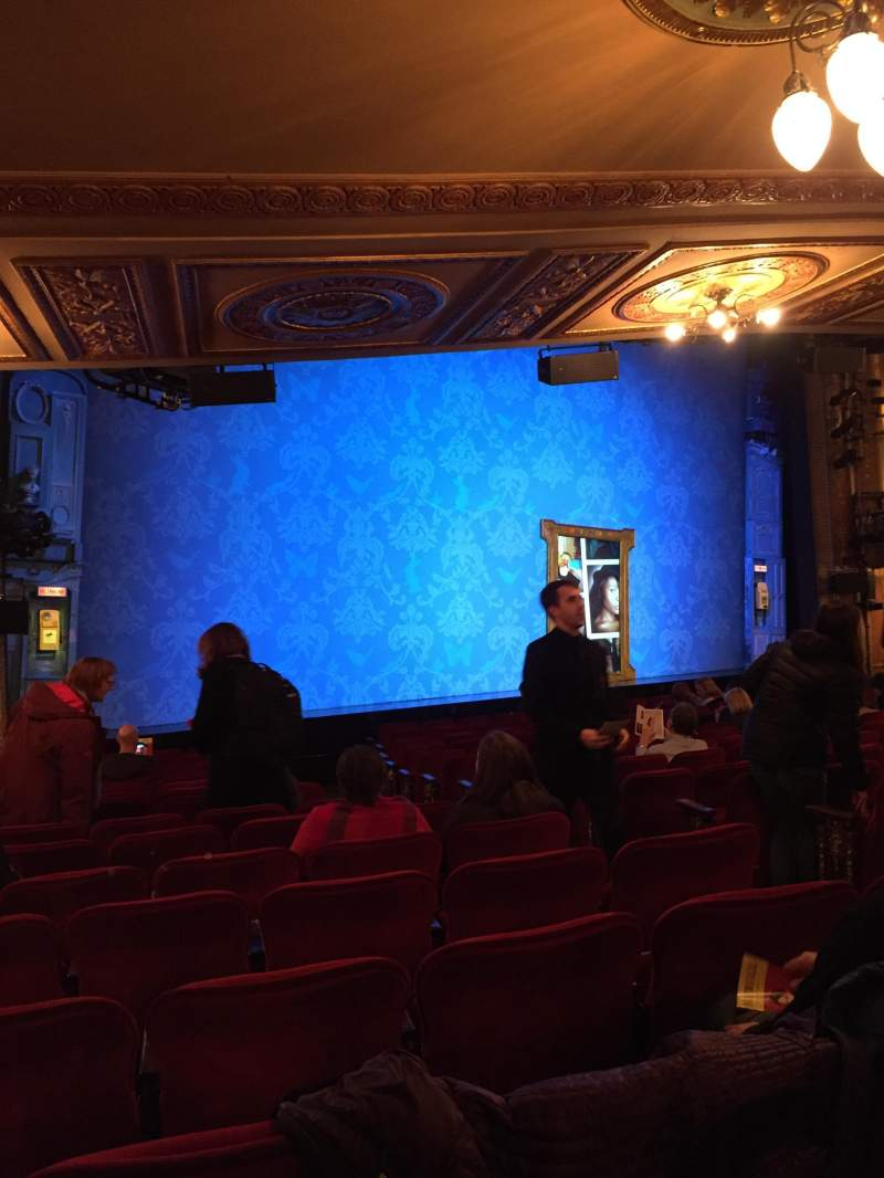 Seating view for Walter Kerr Theatre Section OrchL Row R Seat 13