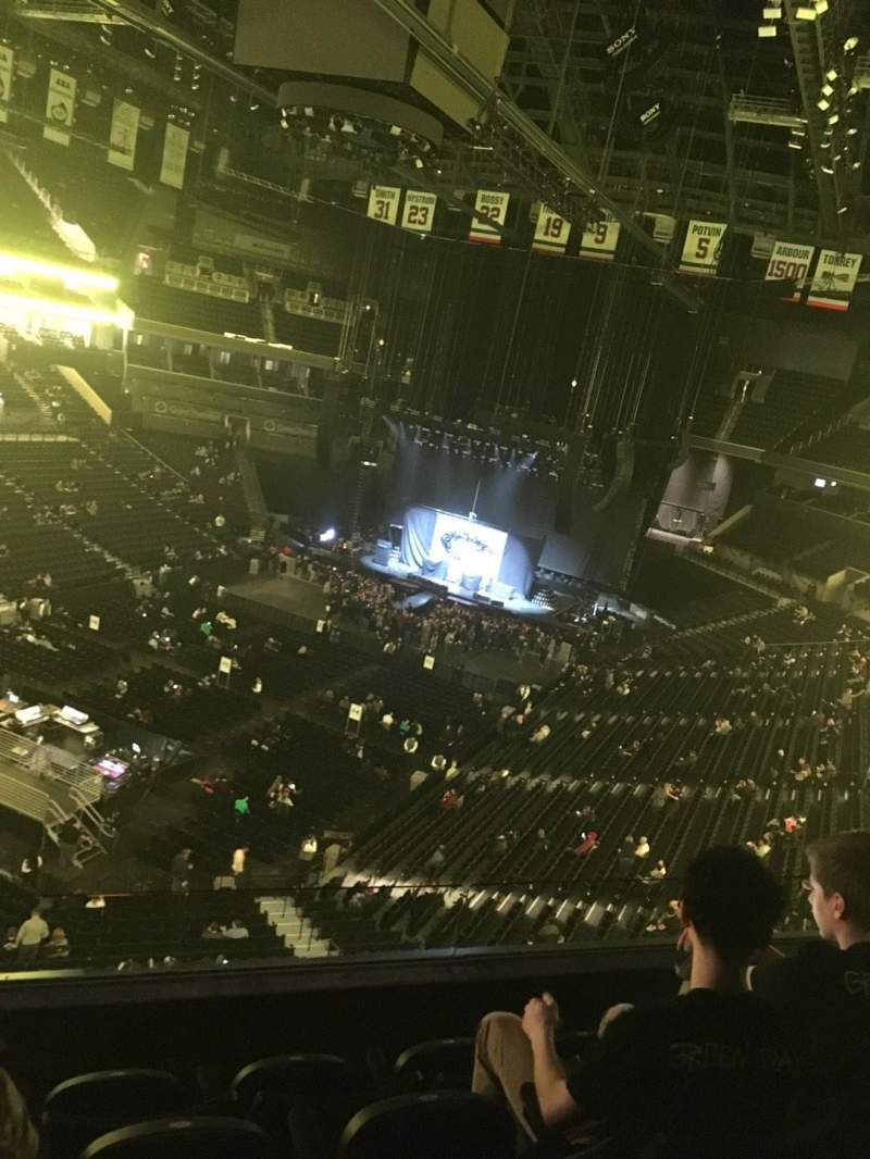 Seating view for Barclays Center Section 213 Row 4 Seat 11