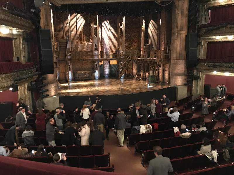 Seating view for CIBC Theatre Section Dress Circle LC Row A Seat 231