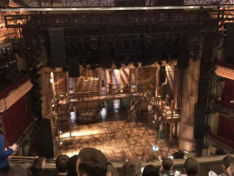 Seating view for CIBC Theatre Section BALCONY LC Row G Seat 417