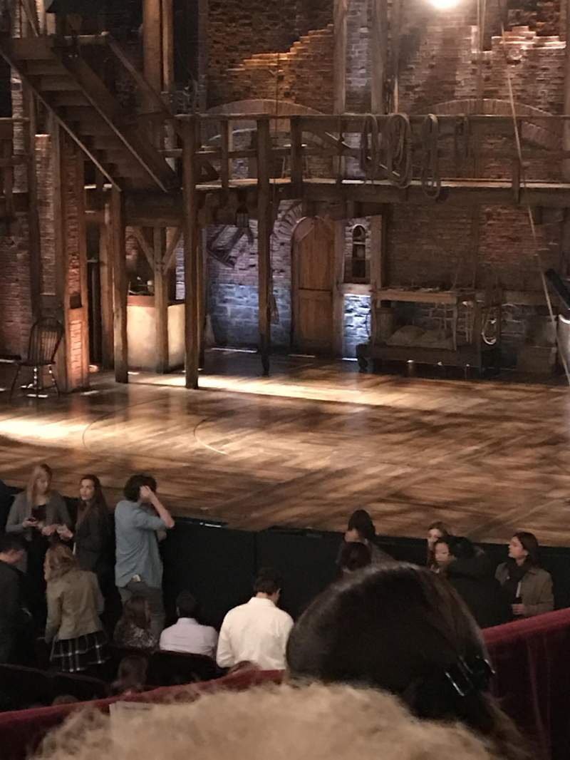 Seating view for CIBC Theatre Section Dress Circle R Row D Seat 6