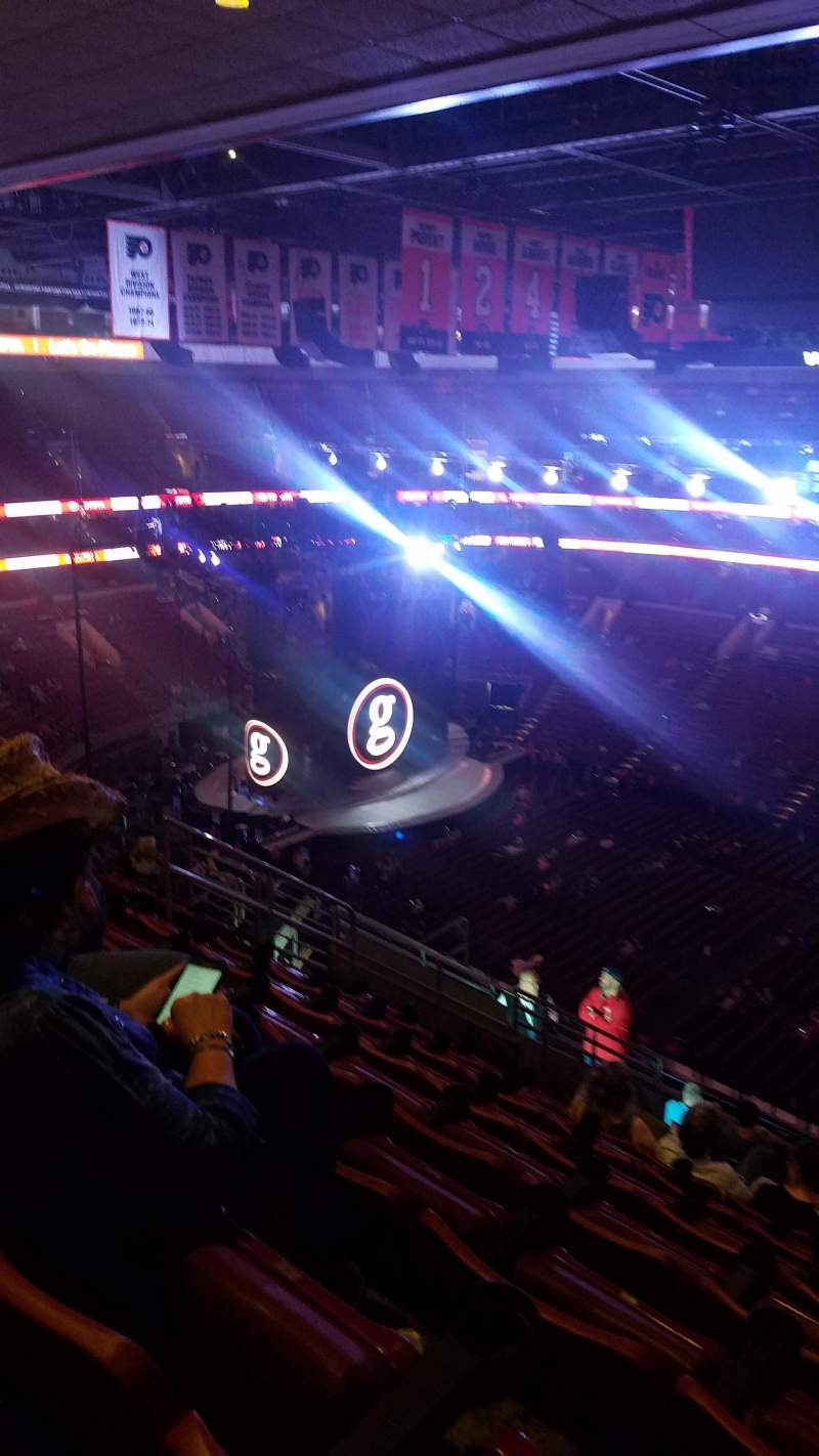 Seating view for Wells Fargo Center Section 203 Row 14 Seat 11