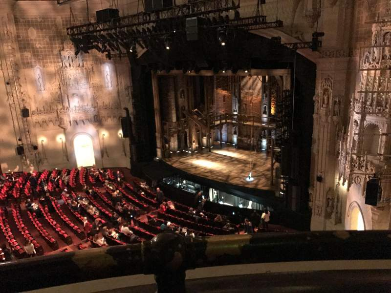 Orpheum Theatre (San Francisco), section: Balcony R, row: AA, seat: 8