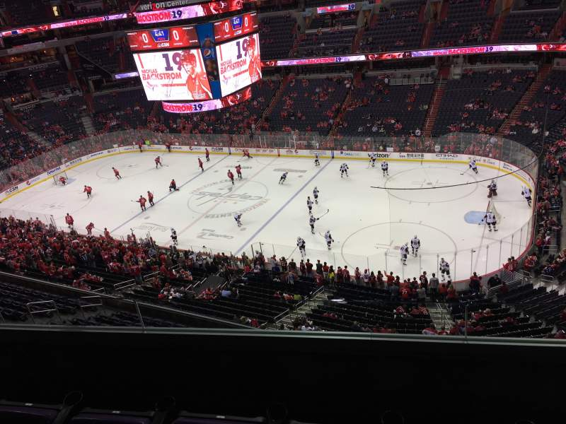 Seating view for Capital One Arena Section 403 Row C Seat 10