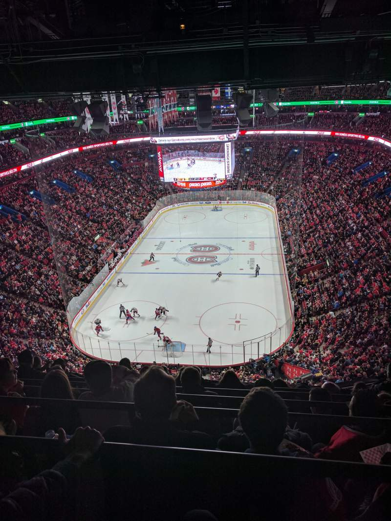 Seating view for Centre Bell Section 327 Row A Seat 12