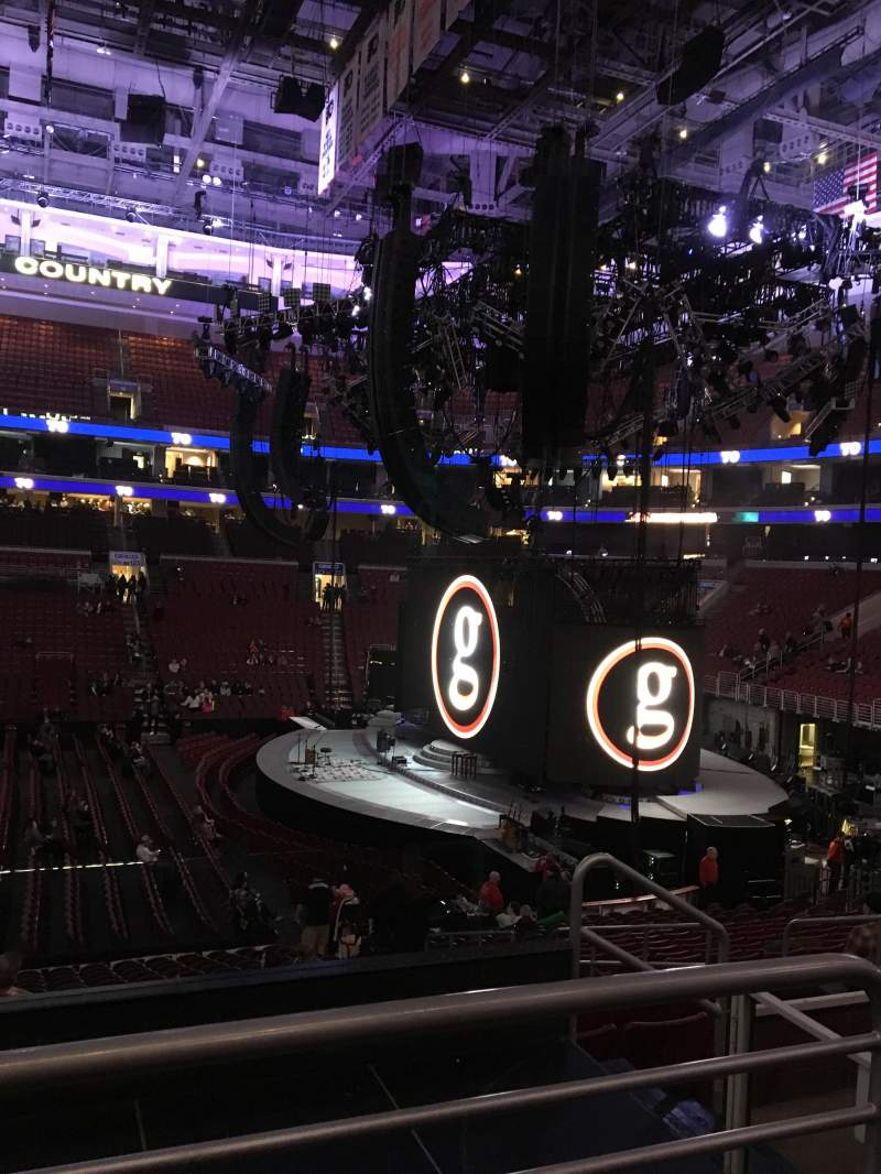 Seating view for Wells Fargo Center Section 114 Row 22 Seat 7,8