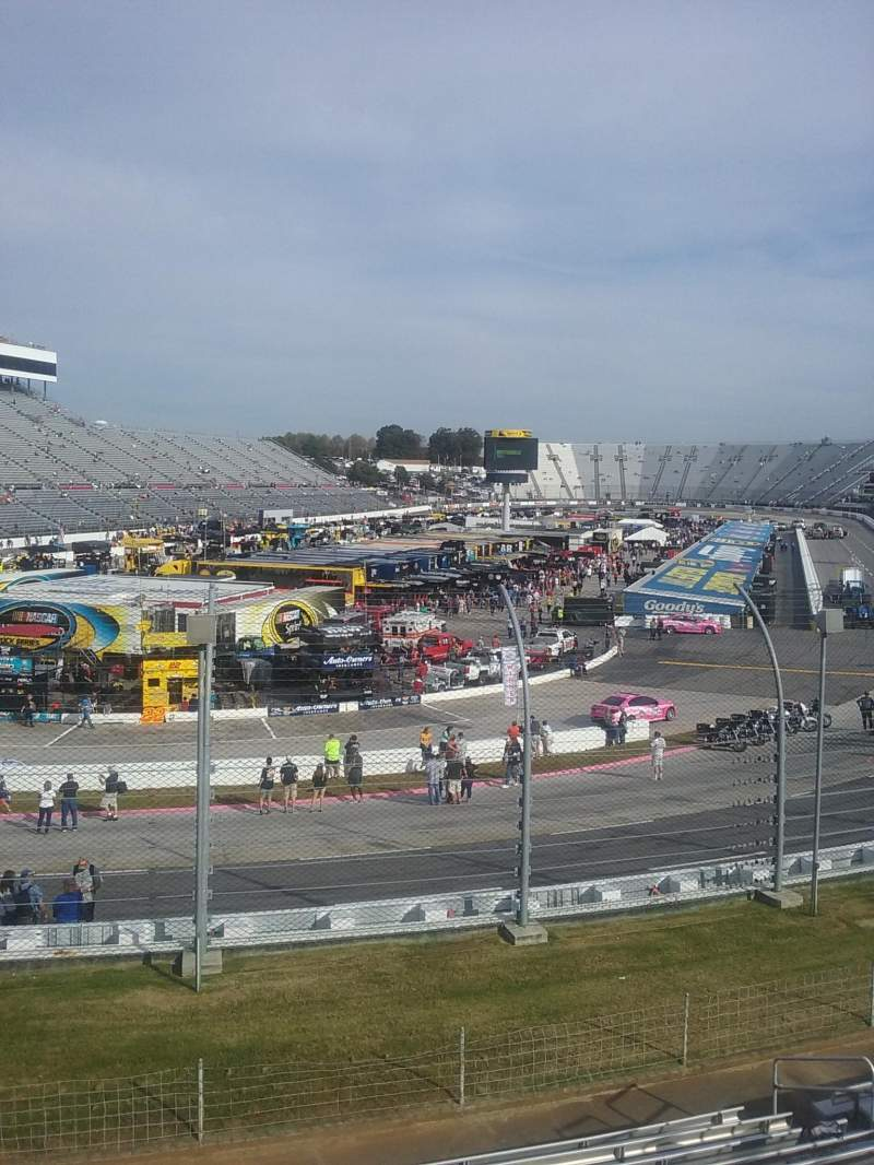 Seating view for Martinsville Speedway