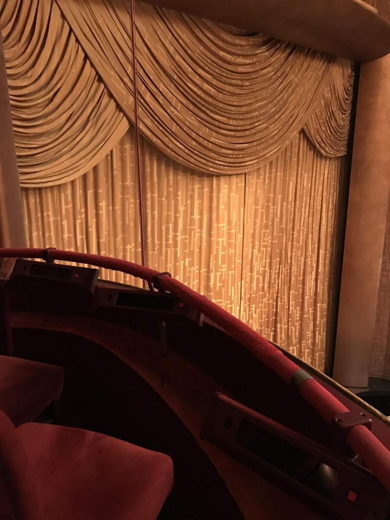Seating view for Metropolitan Opera House - Lincoln Center Section Balcony Row 1 Seat 1